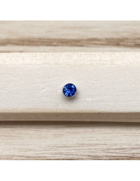 Barbell bioplast bleu foncé 1.2/8/3