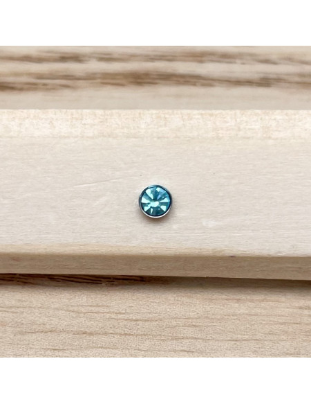 Barbell bioplast bleu clair 1.2/6/3