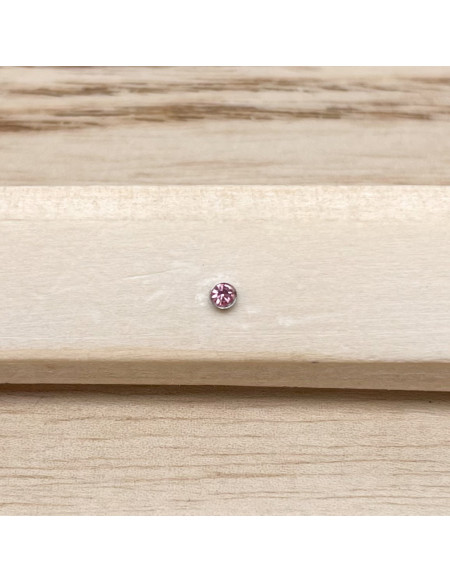 Barbell bioplast rose clair 1.2/8/2