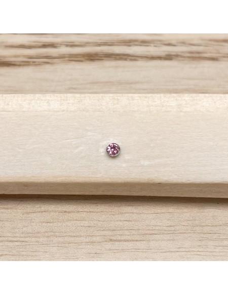 Barbell bioplast rose clair 1.2/6/2