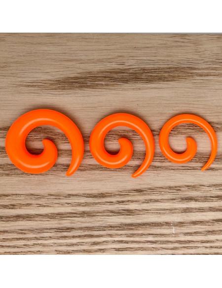 Ecarteur spirale orange 1pcs