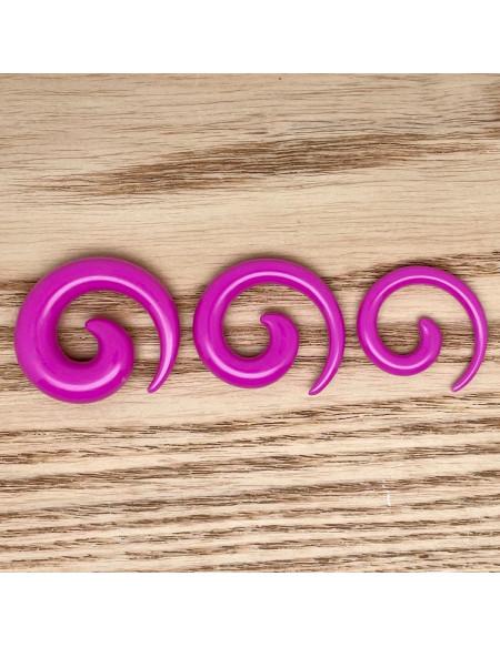 Ecarteur spirale violet 1pcs