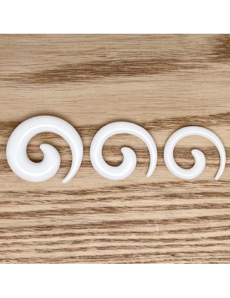 Ecarteur spirale blanc 1pcs