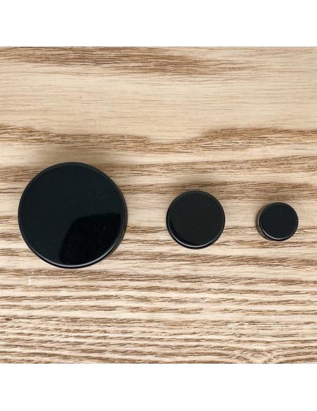 Ecarteur plug noir 1pcs