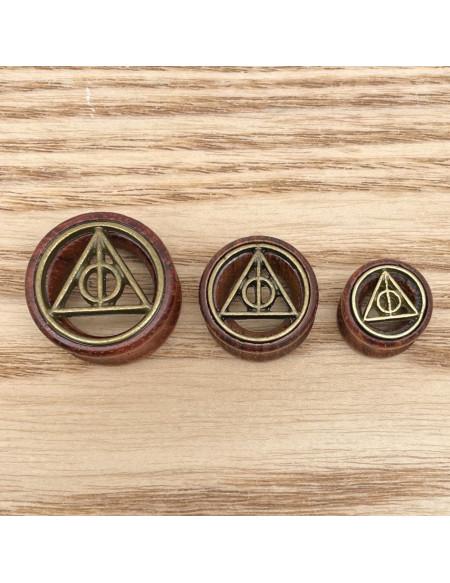 Ecarteur tunnel symbole triangle Harry Potter 1pcs